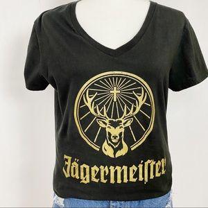 JAGERMEISTER Graphic Tee Women's X-Large Black